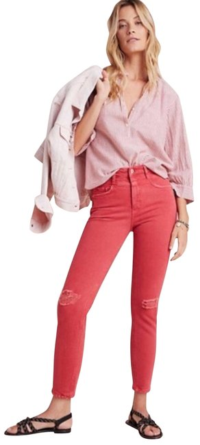 Item - Red Pilcro and The Letterpress High-rise Slim Skinny Jeans Size 25 (2, XS)