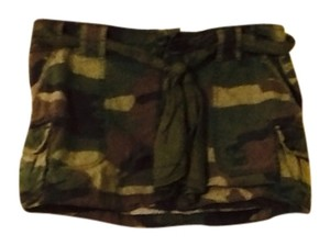 Abercrombie & Fitch Skirt Camo Green