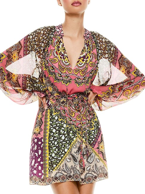 Item - Multi with Tag Paisley Print Short Cocktail Dress Size 4 (S)