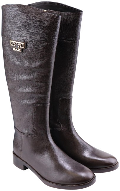 Tory Burch Coconut Joanna Tumble Leather Riding Boots/Booties Boots/Booties Size US 9 Regular (M, B) Tory Burch Coconut Joanna Tumble Leather Riding Boots/Booties Boots/Booties Size US 9 Regular (M, B) Image 1