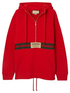 Item - Red - Oversized Sweatshirt/Hoodie