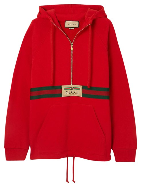 Item - Red - Oversized Sweatshirt/Hoodie Size 00 (XXS)