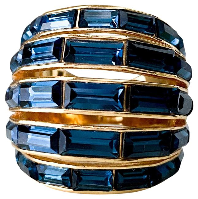 Item - Sapphire Blue Dome Ring