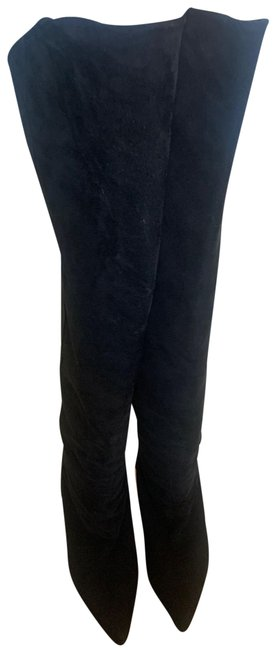 Item - Black Over The Knee Boots/Booties Size US 10 Regular (M, B)
