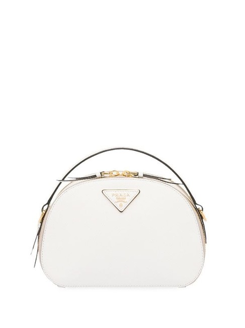 Item - Shoulder Odette Saffiano White Leather Cross Body Bag