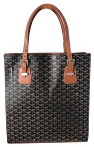 Item - Commodores Gm Black Coated Canvas Tote