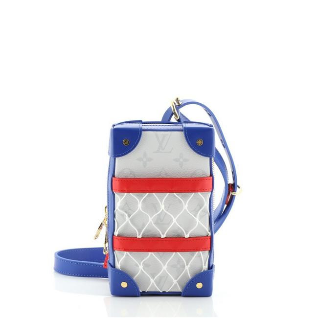 Item - Soft Trunk Box Lvxnba Phone Limited Edition Antarctica Monogram Multicolor Leather Canvas Coated Cross Body Bag