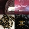 Chanel Classic Double Flap Lambskin Quilted Medium Black Leather Shoulder Bag Chanel Classic Double Flap Lambskin Quilted Medium Black Leather Shoulder Bag Image 7