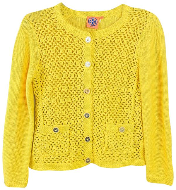 Item - Yellow Knit Cardigan Size 2 (XS)