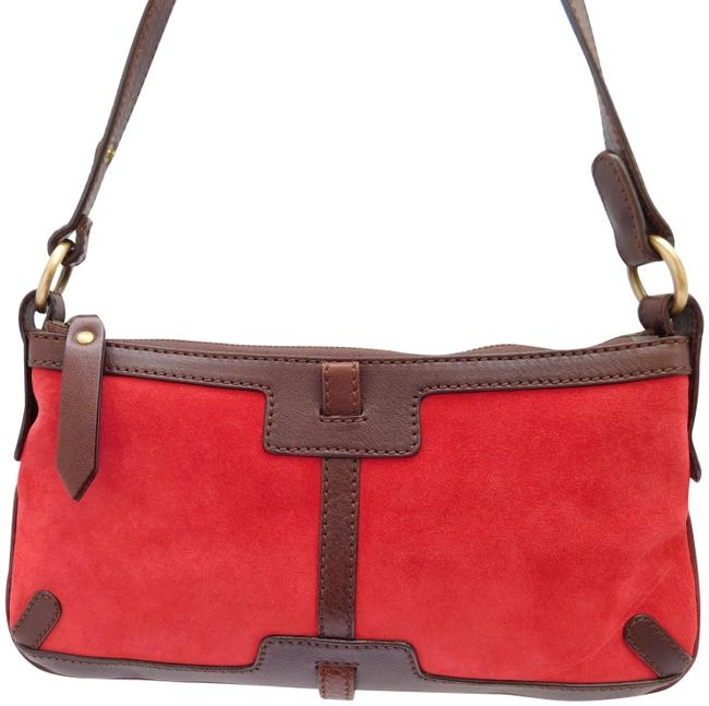 Item - Mini Bag Red Leather Baguette