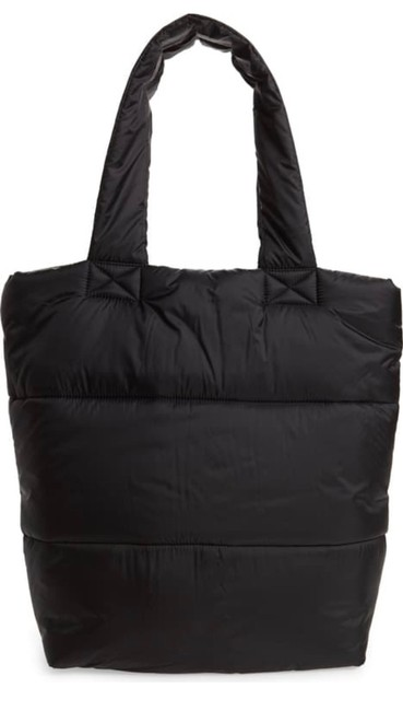Item - Puffer Black Polyester Tote