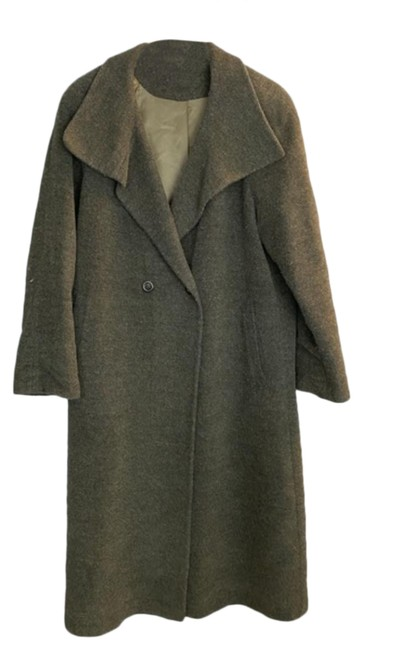 Item - Green Vintage Wool Coat Size 10 (M)