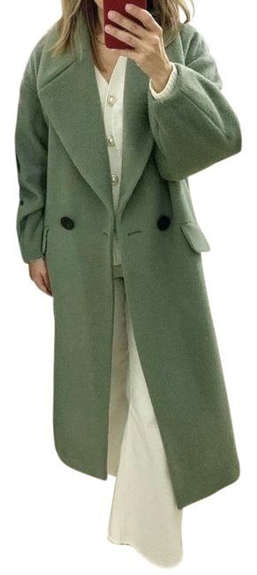 Item - Green Limited Edition Alpaca and Wool Blend Coat Size 4 (S)