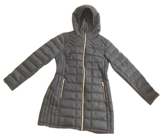 Item - Green Black Kate Spade Packable Down Jacket Size 6 (S)