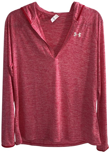 Item - Pink Hooded Lightweight Activewear Top Size 12 (L)