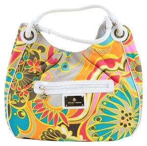 Trina Turk Canvas Tote Hobo Bag