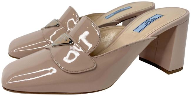 Item - Nude Patent Leather Loafer 55mm Pumps Mules/Slides Size EU 38 (Approx. US 8) Regular (M, B)