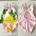 Anthropologie Pink Green Alja Horvat Fringed One Pc Swimsuit One-piece Bathing Suit Size 0 (XS) Anthropologie Pink Green Alja Horvat Fringed One Pc Swimsuit One-piece Bathing Suit Size 0 (XS) Image 2