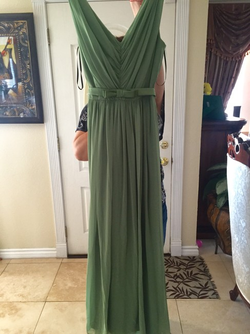 Item - Light Green Lux Chiffon Collection Style 2897 Formal Bridesmaid/Mob Dress Size 8 (M)