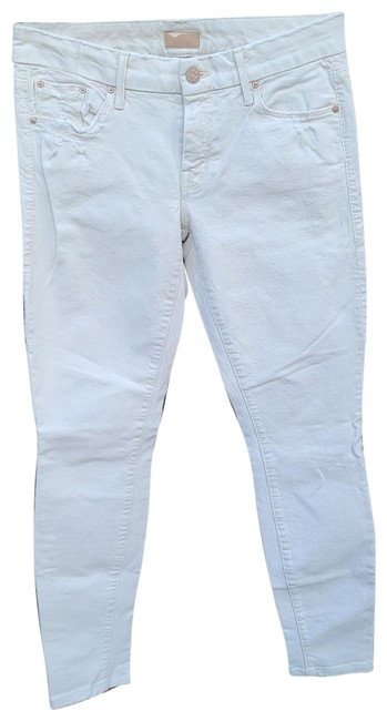 Item - Cream Light Wash Denim The For A Day Skinny Jeans Size 27 (4, S)