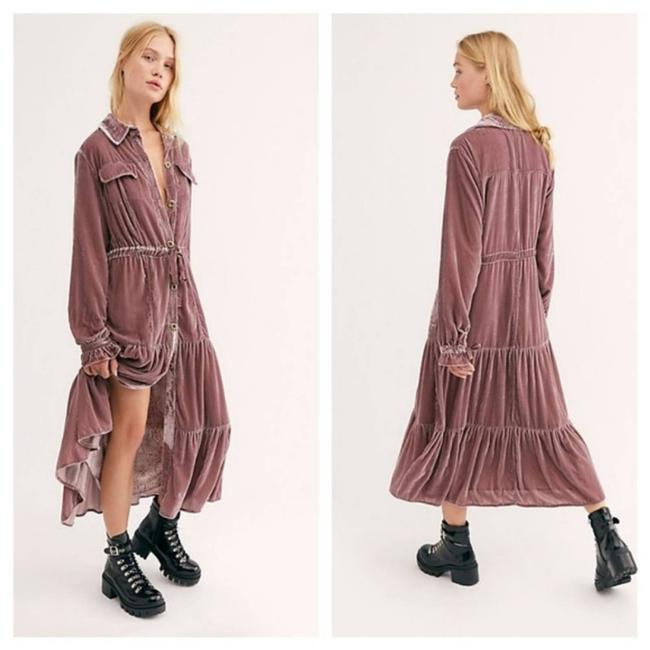 Item - Pink XS Bella Donna Duster Long Casual Maxi Dress Size 2 (XS)