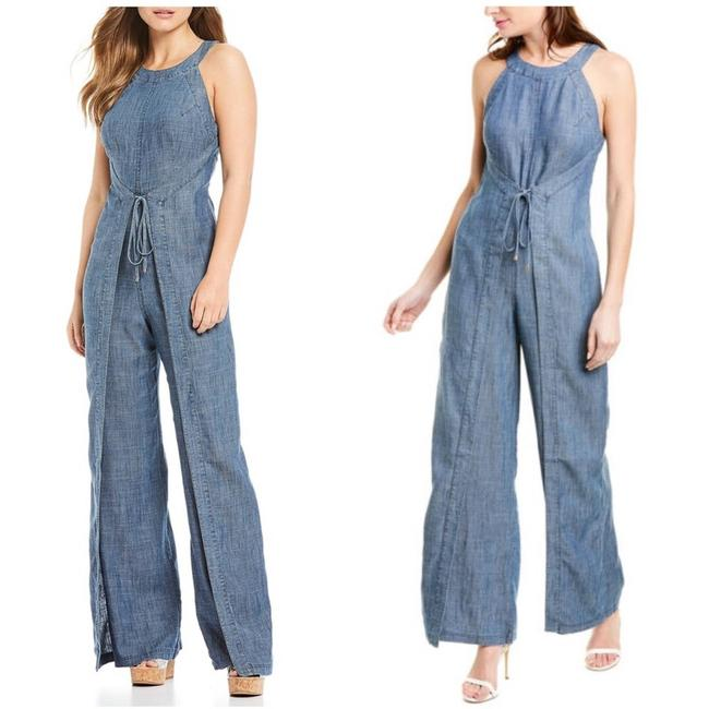 Item - Blue Hewett Chambray Romper/Jumpsuit