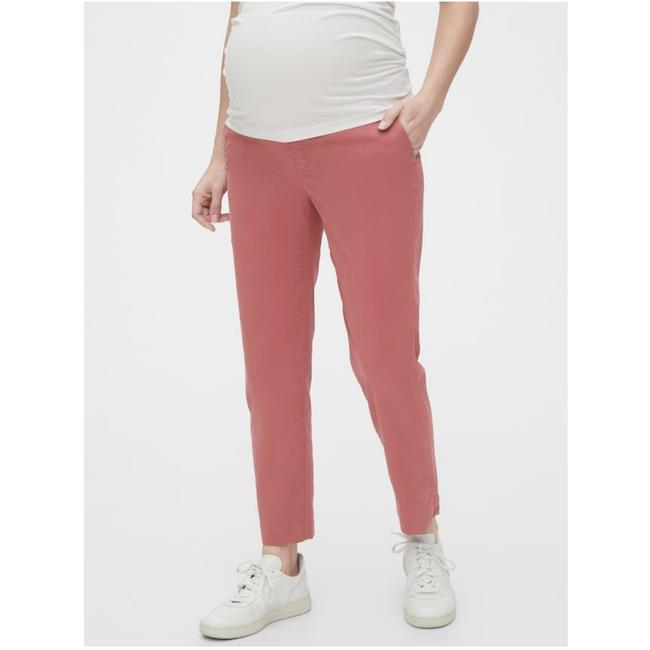 Item - Red Maternity Full Straight Pants Size 4 (S, 27)