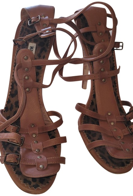 Item - Brown Gladiator Sandals Size EU 39.5 (Approx. US 9.5) Regular (M, B)