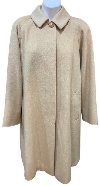 Item - Cream/ Beige Vintage Coat Size 14 (L)