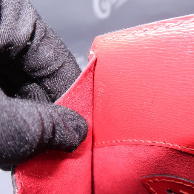 Louis Vuitton Cluny Red Epi Leather Shoulder Bag Louis Vuitton Cluny Red Epi Leather Shoulder Bag Image 11