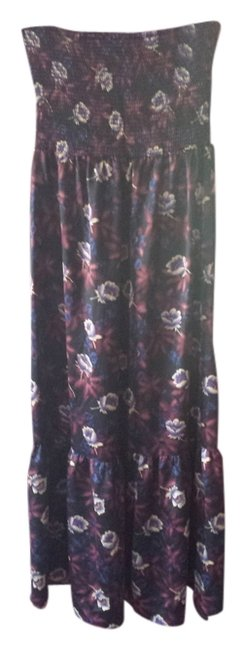 Preload https://item5.tradesy.com/images/free-people-black-blue-maroon-long-casual-maxi-dress-size-4-s-2873359-0-0.jpg?width=400&height=650