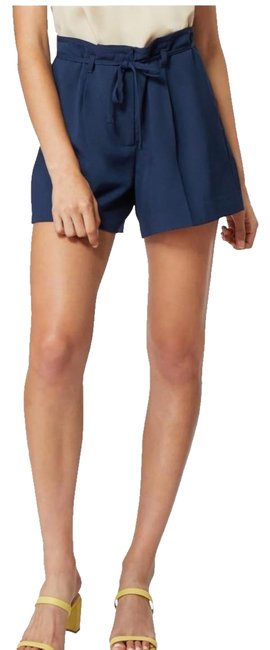 Item - Blue Paper Bag Shorts Size 10 (M, 31)