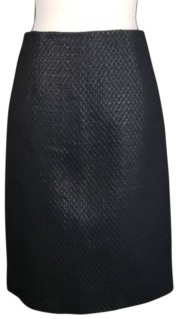 Marc Jacobs Black On Tweed Pencil Skirt Size 4 (S, 27) Marc Jacobs Black On Tweed Pencil Skirt Size 4 (S, 27) Image 1