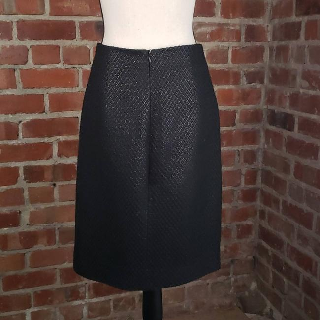 Marc Jacobs Black On Tweed Pencil Skirt Size 4 (S, 27) Marc Jacobs Black On Tweed Pencil Skirt Size 4 (S, 27) Image 2