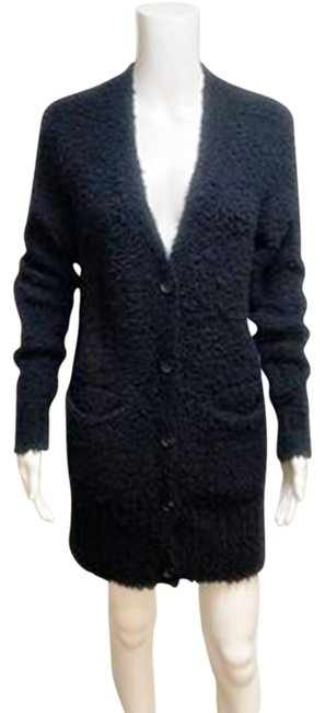 Item - Black Wilfred Boucle Knit Button Front Sweater Cardigan Size 4 (S)