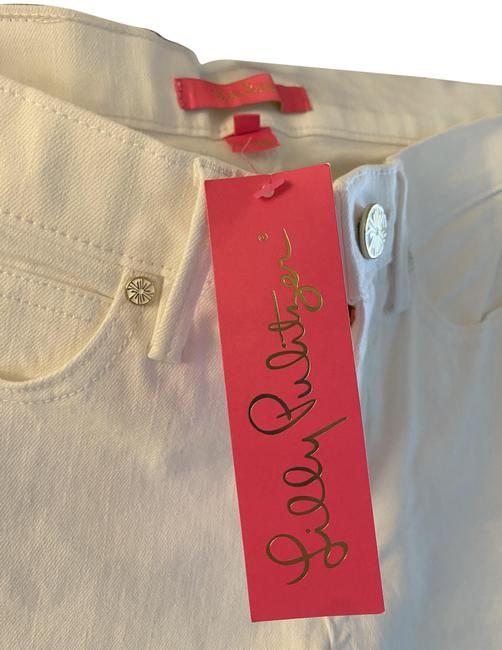 Item - White South Ocean Slim Crop Capri/Cropped Jeans Size 27 (4, S)