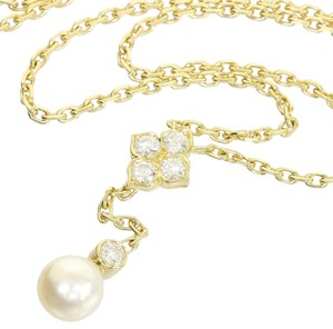 Cartier Cartier Diamond, Pearl Pendant Necklace in 18k Yellow Gold Hindoue Mysterieuse