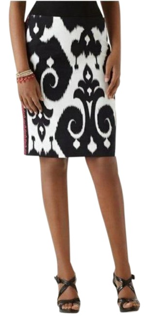 Item - Whbm Ikat Faille Pencil Skirt Size 4 (S, 27)