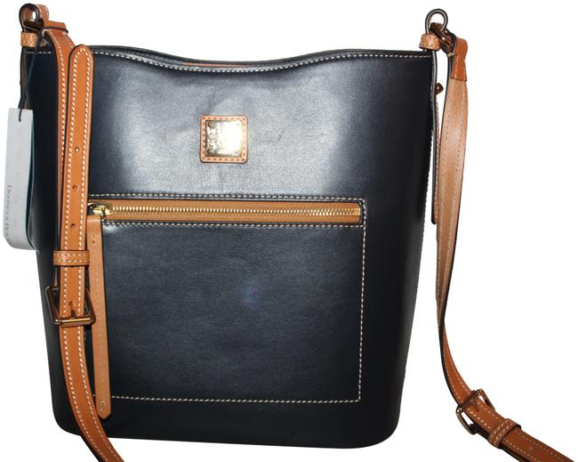 Item - Wexford Ridley Purse Midnight Navy Leather Cross Body Bag