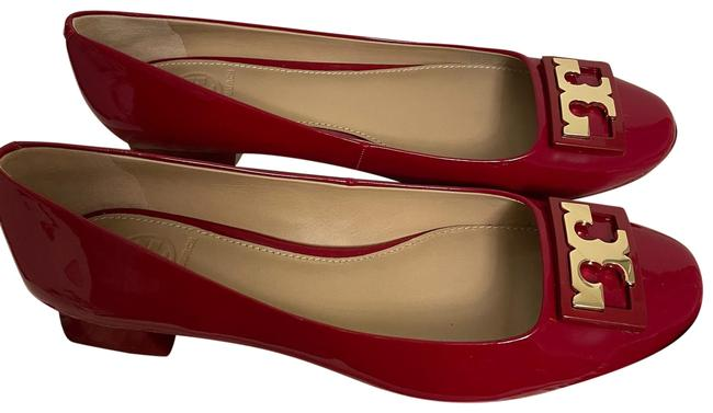 Item - Red Gigi Soft Patent Pumps Size US 8.5 Regular (M, B)