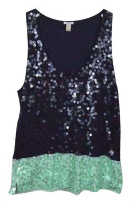Item - Green Blue Tank Top/Cami Size 4 (S)