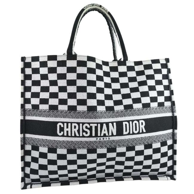 Item - Book Check M12862riq 911 Unisex Black Canvas Tote