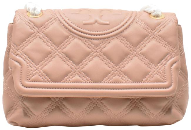 Item - Fleming Quilted Soft Convertible Pink Lambskin Leather Shoulder Bag