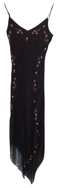Betsey Johnson Long Sexy Dancing Flowers Dress