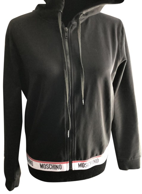 Item - Black Red and White Label Hoodie Z Activewear Size 10 (M)