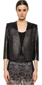 Item - Black Old Silver Panel Shy Jacket