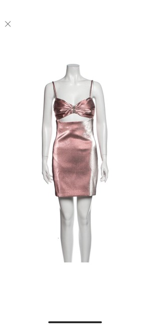 Item - Pink Nyc Sheath Short Cocktail Dress Size 4 (S)