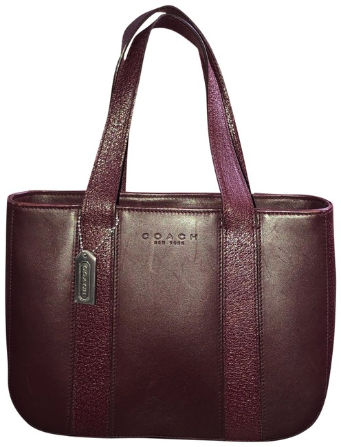 Item - Vintage Bridle Burgundy Calfskin Leather Satchel
