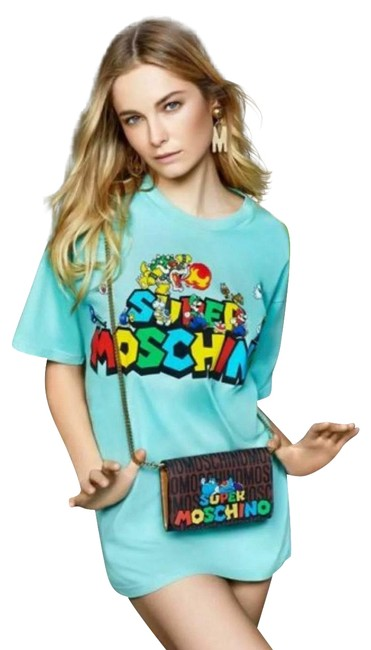 Item - Green Couture Jeremy Scott Super Mario Team Nintendo T-shirt Exclusive Tee Shirt Size 4 (S)