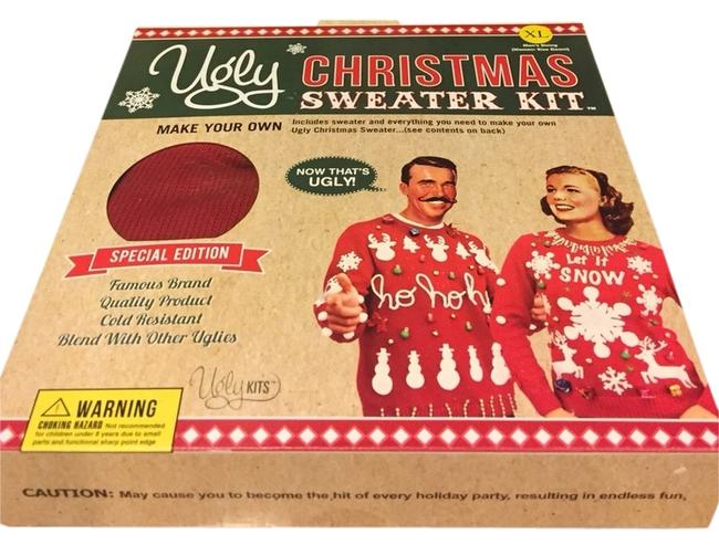 Preload https://item2.tradesy.com/images/ugly-sweater-kit-sweater-2873911-0-0.jpg?width=400&height=650